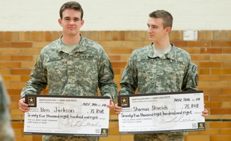 ROTC students receive scholarships