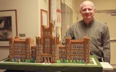 Charleston resident constructs Old Main from gingerbread