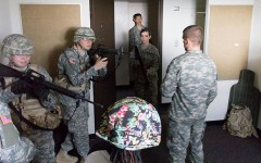 ROTC receives training in Carman Hall