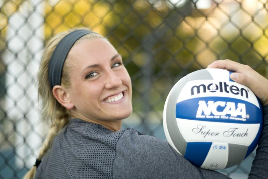 Volleyball's Maria Brown having strong sophomoreyear