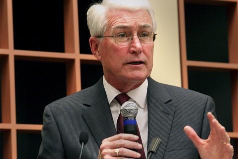 Jim Edgar talks about budgetimpasse