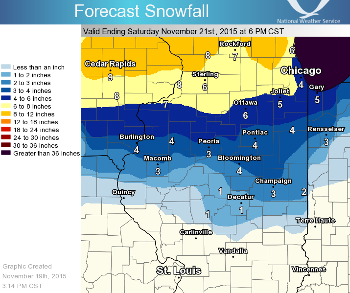 Storm system could mean accumulating snow Fridaynight