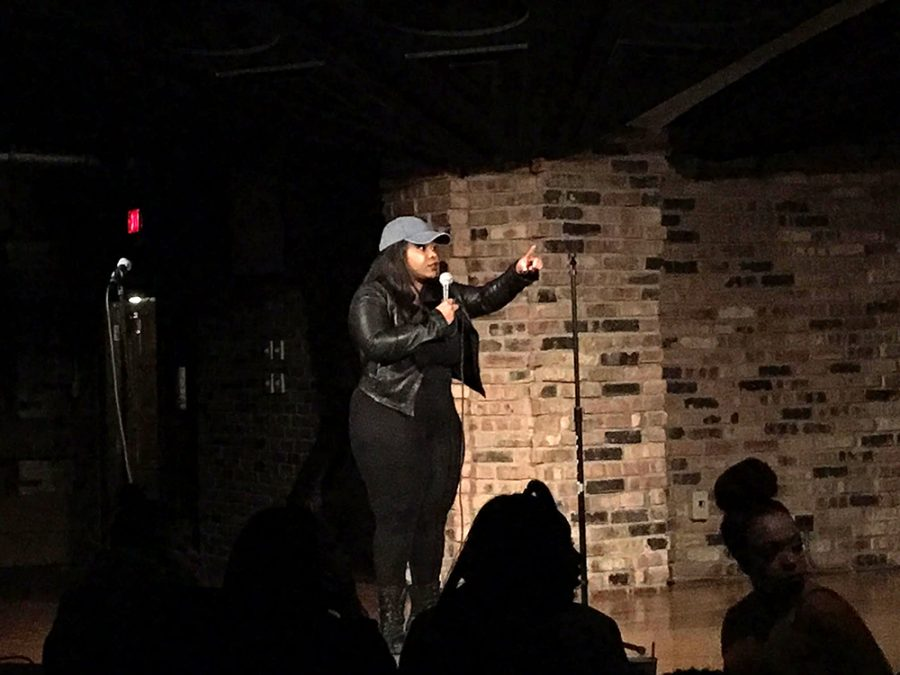 Rappers, poets perform at open mic night