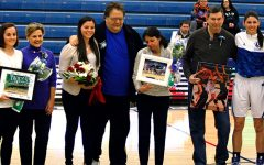 Gallery: Women's basketball honors seniors