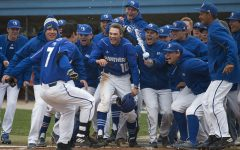 Gallery: Panther baseball sweeps Eastern Kentucky