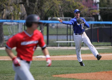 Baseball team wins over Morehead State