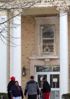 Perry to make decision regarding Douglas Hall