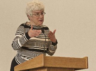 Retiree speaks about first women