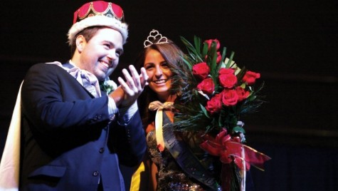 Photo: Students compare what it means to be Homecoming vs. Greek Weekroyalty