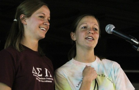 Photo: Fraternity fights cancer withkaraoke