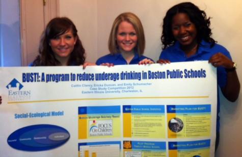 Photo: Health studies students win national award