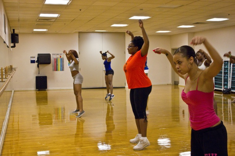 Feature Photo: Dance Tryouts at the Student Recreation Center