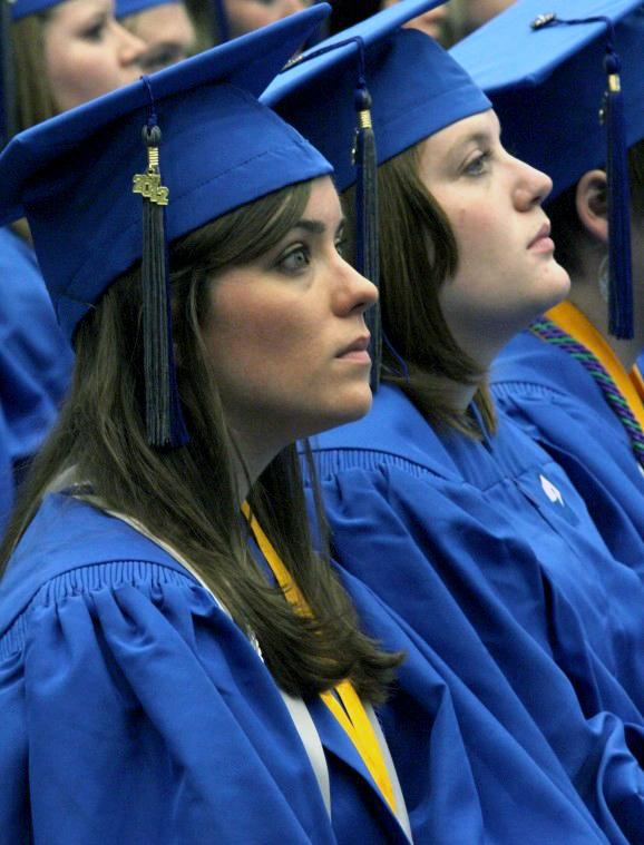 Photo: Commencement approaches for students