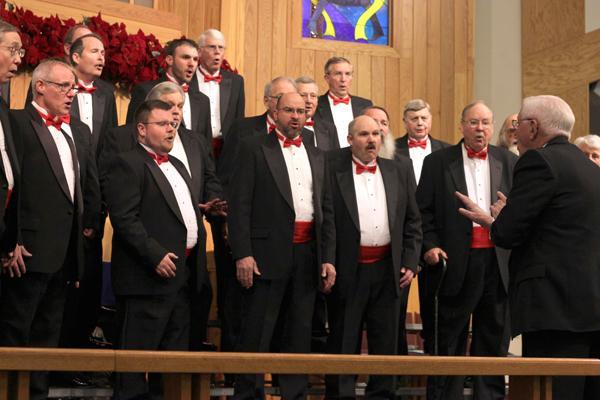 Photo: Coles County Barbershop Chorus to raise money by serenading valentines