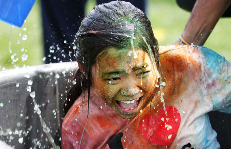 Photo: Holi to brighten quad with color