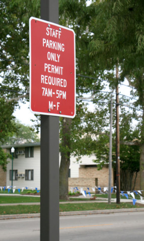 The University Police Department will begin routinely checking and ticketing parking lots. Violators will be ticketed $20.