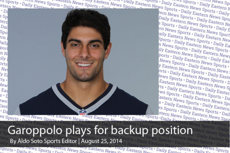 Garoppolo now playing for backup spot for Patriots