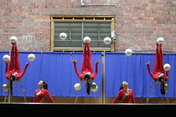 Chinese acrobats return for Family Weekend