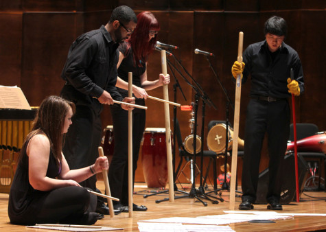 Percussion Ensemble concert Tuesday to feature traditional Afro-Cuban music