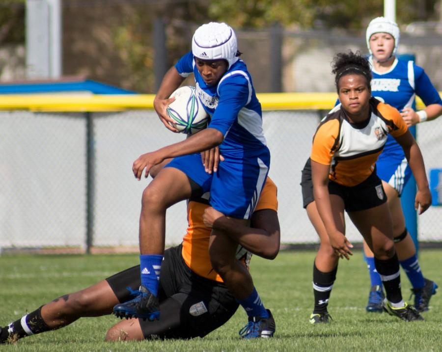 Rugby wins first game of season