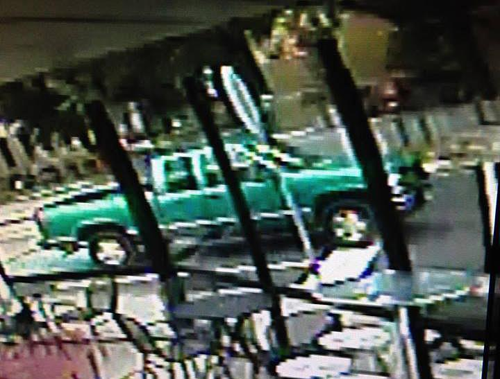 Charleston Police Department released this photo of the alleged vehicle involved in the hit and run.