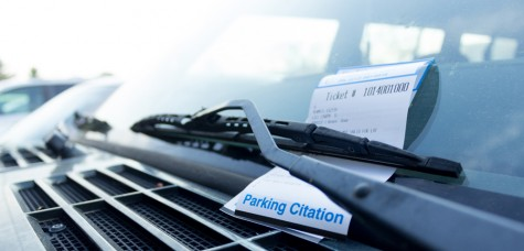 Last year students receive 12,000 parking citations