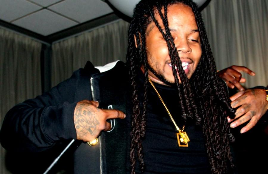 Chicago rap artist King Louie performs during Nupes at the Apollo Sat. Oct 4 in the University Ballroom of the Martin Luther King Jr. University Union. King Louie performed several songs from his mixtape titled Tony.