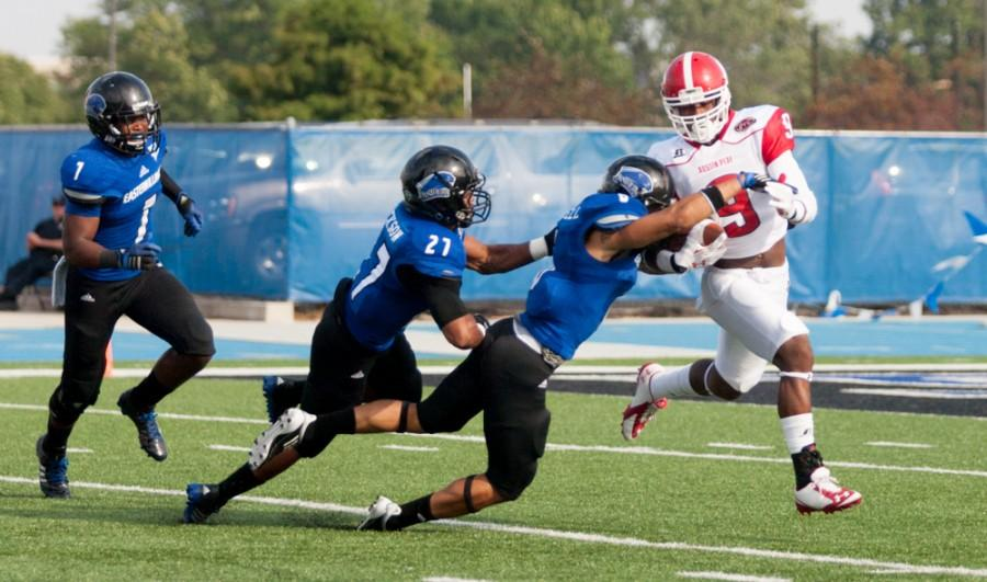 Eastern back in title picture after 52-13 win