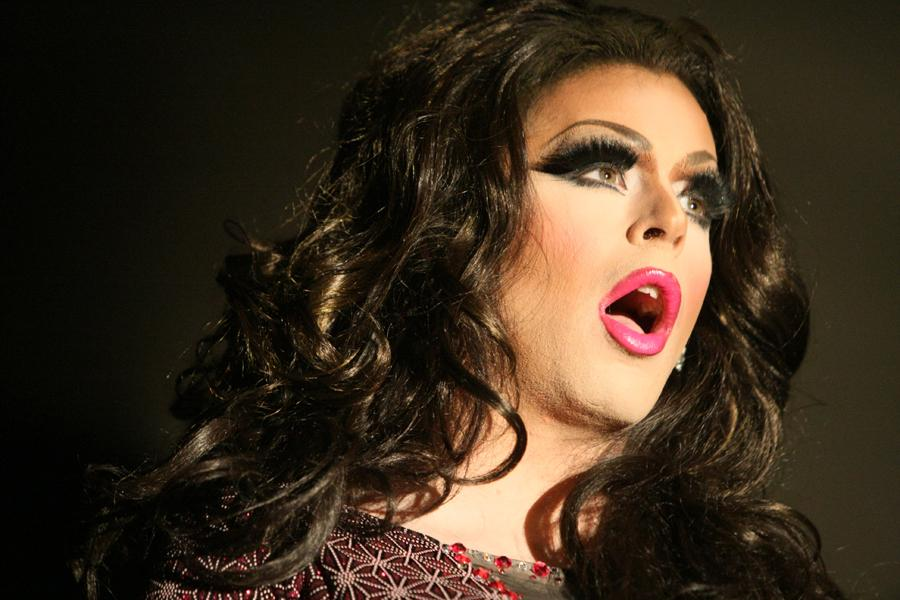 Calexus+Carrington-+Steele+does+a+sings+and+dance+to+the+song+%27One+Less+Problem%27+during+the+2014+Diva+Drag+Show%3A+Dress+to+Kill+Monday+in+the+Grand+Ballroom+of+the+Martin+Luther+King+Jr%2C+University+Union.