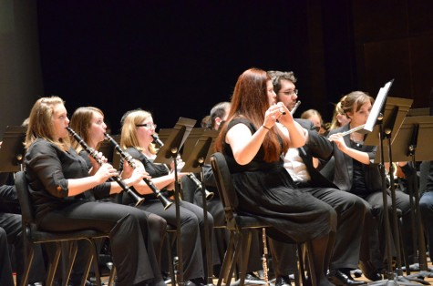 Wind Symphony, Concert Band honors veterans