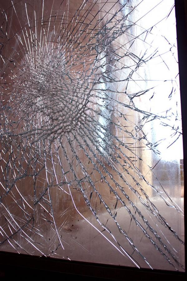 Buzzard broken into, damaged