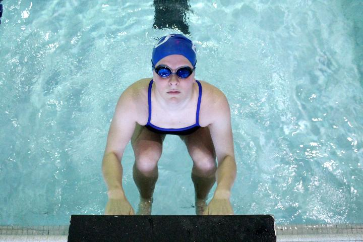 Freshman+swimmer+making+strides+in+the+water