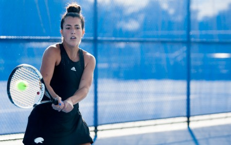 Women's tennis improves after win over Illinois State