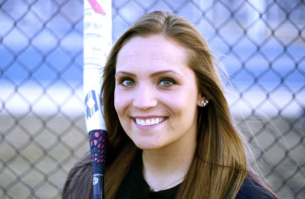 Junior outfielder April Markowski has a .318 batting average through 16 games for the Eastern softball team. Markowski has the third highest batting average on the team, with over a third of her hits being doubles.
