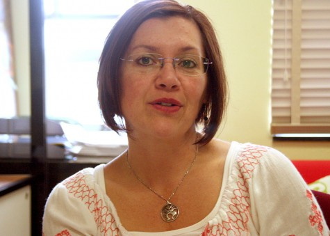 Linda Scholz, a professor of communication studies, reflects on her life as a Guatemalan- American and her choice to be a professor.