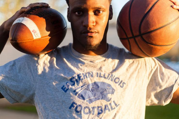 Eastern basketball's senior guard Dylan Chatman graduates with a bachelor's degree in Psychology this semester, but will take his fifth year of athletic eligibility to the football team. Chatman is walking on to play cornerback for the Panthers.
