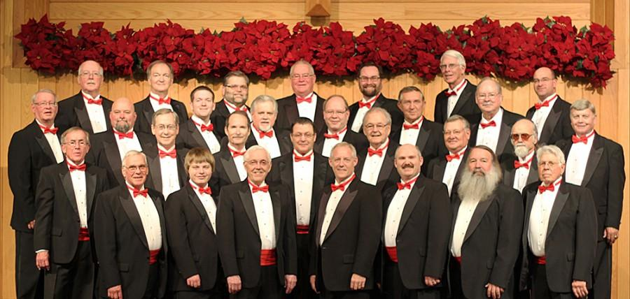 The Coles County Barbershop Singers will be performing Tuesday night at 7 pm in Kiwanis Park. The group has been active since 1970