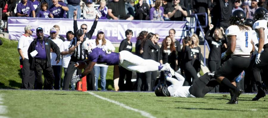 The+Panther+defense+fails+to+prevent+a+touchdown+by+Northwestern%27s+Justin+Jackson+during+the+41-0+loss+on+Saturday+at+Ryan+Field+in+Evanston%2C+Ill.