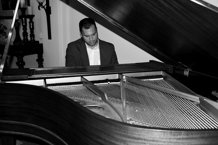 Pianist and composer Travis Wesley will perform Thursday in the Dvorak Concert Hall of the Doudna Fine Arts Center.