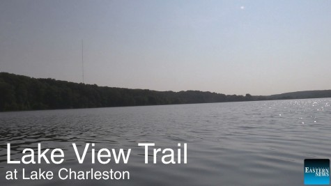 Lake View Trail is a bike path with routes that rise, decline, twist and turn located next to Lake Charleston.