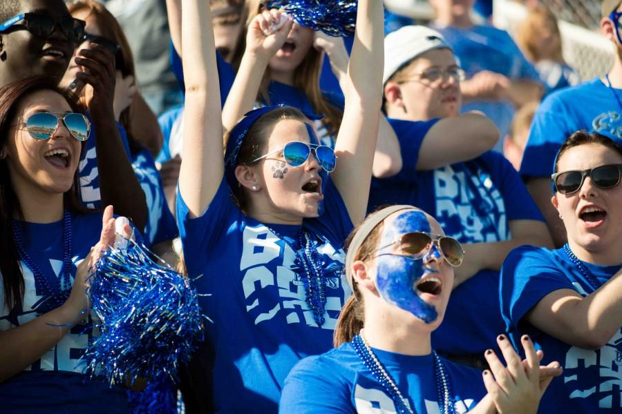 EIU+homecoming+football+game+at+OBrien+Field+on+the+campus+of+Eastern+Illinois+University+in+Charleston%2C+Illinois+on+October+25%2C+2014.+%28Jay+Grabiec%29