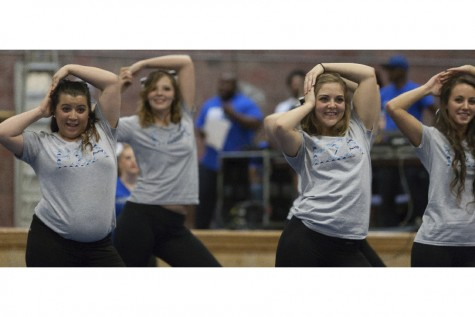 Students become vocal at 'Yell Like Hell'