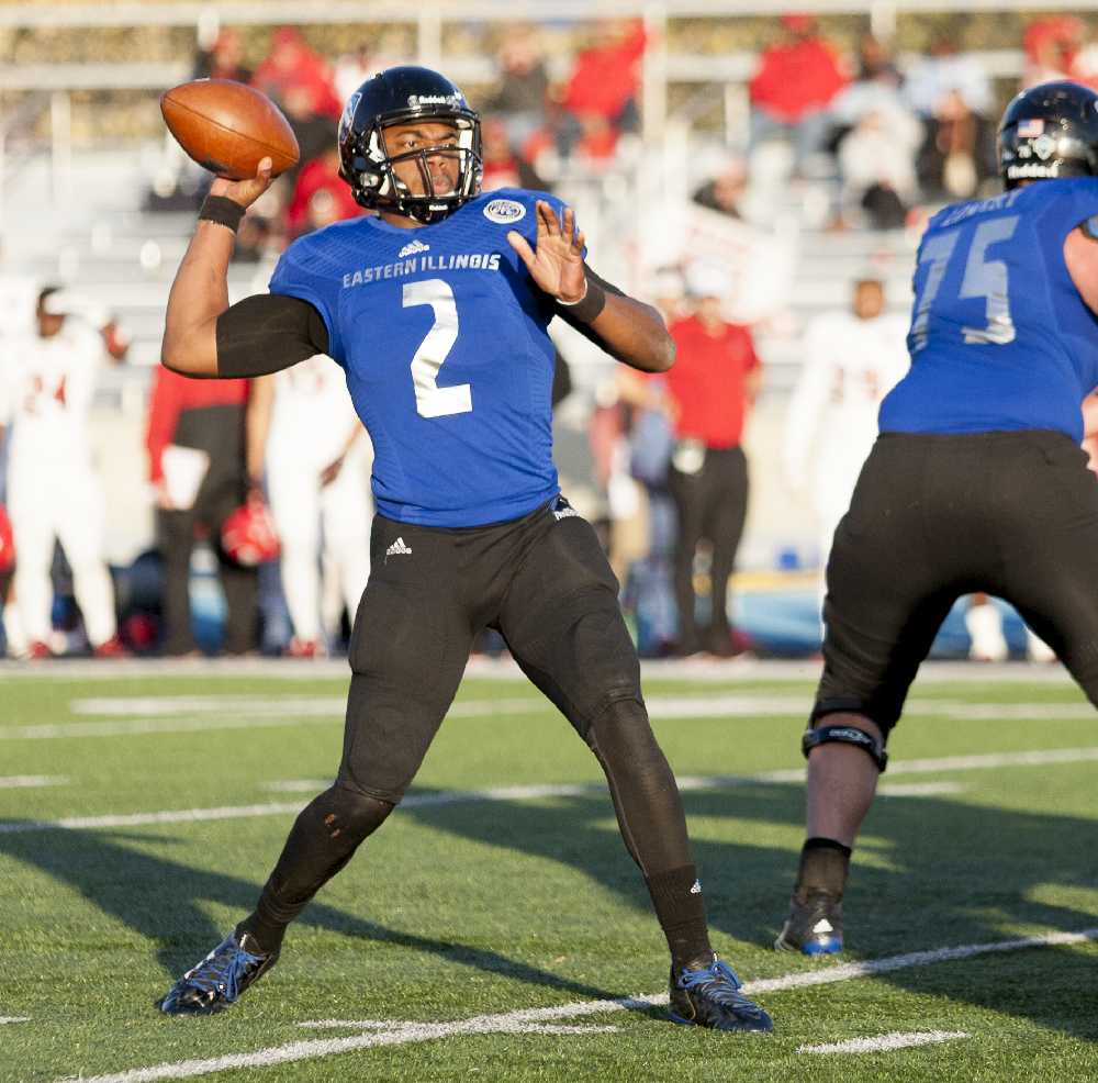 Senior quarterback Jalen Whitlow threw six passes for 55 yards and rushed 81 yards during the Panthers' 24-3 loss to Jacksonville State on Saturday at O'Brien Field.