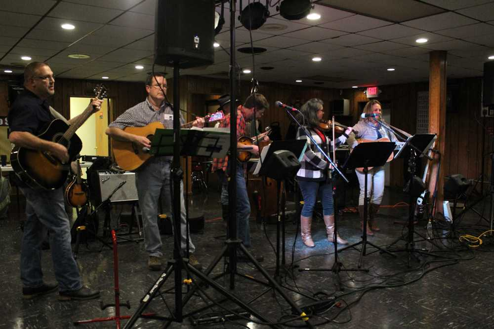 Big Blue Mountain was the first band to perform Wednesday at the Veteran of Foreign Wars for the eighth annual Band Together event put on by the Citizen's Against Child Abuse.