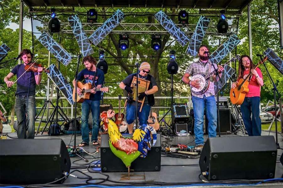 ClusterPluck debuts untraditional Bluegrass sounds