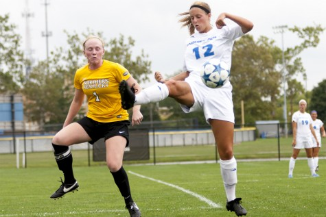 Senior midfielder Molly Hawkins had seven goals and two assists during her senior season with the Panthers.