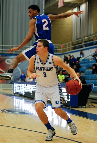 Freshman guard Casey Teson scored six points during the Panther's 66-61 loss against Tennessee State Wednesday in Lantz Arena.