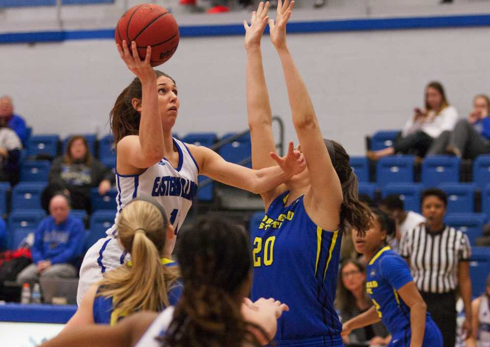 Junior forward Erica Brown scored 14 points during the Panthers' 85-77 loss to Morehead State on Saturday in Lantz Arena. Brown currently has 199 points averaging 10.5 points on the season.