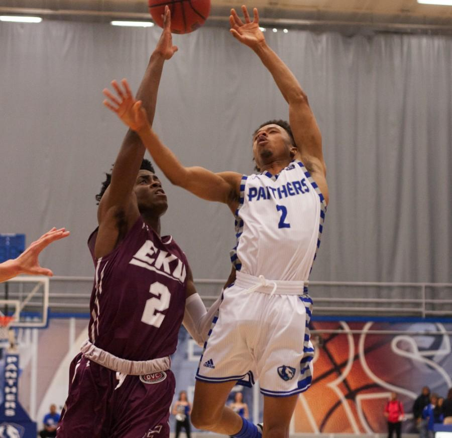 Sophomore guard Cornell Johnston has 217 points on the season averging 10.9 points per game.
