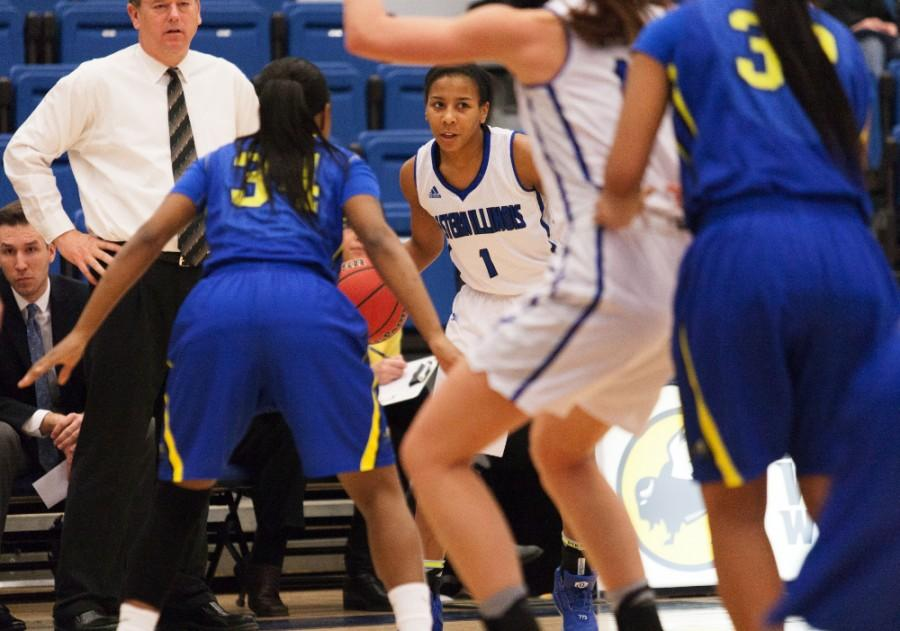Junior guard Phylicia Johnson scored 18 points in the Panthers' 80-45 loss to Austin Peay on Saturday in Clarksville, Tenn. She has 103 points on the season averaging 6.4 per game.